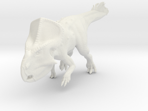 Protoceratops Quilled (1:12 scale model) in White Strong & Flexible