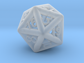 Piped D20 in Frosted Ultra Detail