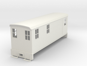 On30 Boxcab loco body in White Strong & Flexible