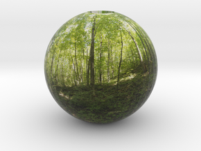 pano sphere 1 - opened in Full Color Sandstone