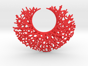 Vessel Pendant in Red Strong & Flexible Polished