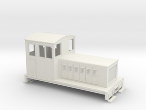HOn30 Endcab conversion 1 for Kato 11-105 chassis in White Strong & Flexible