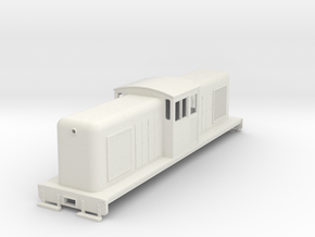 HOn30 large center cab body for Tomix TM-05 v2 in White Strong & Flexible