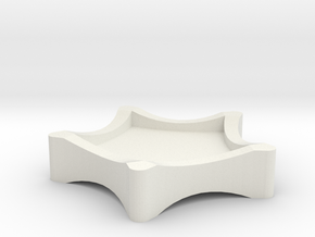Drip Tray Star in White Strong & Flexible