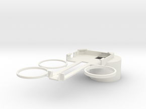 Canon IS 15x50 iPhone 5/5S Adapter in White Strong & Flexible