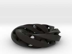 Moebius ring in Black Strong & Flexible