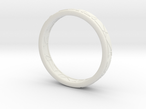 Broken ring in White Strong & Flexible