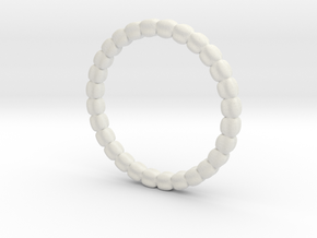 Vertebral ring in White Strong & Flexible