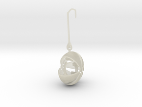 armadillo  earring stone keeper in Transparent Acrylic