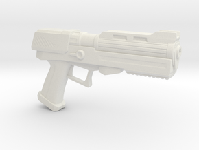 Heavy Plasma Pistol in White Strong & Flexible