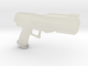 Heavy Plasma Pistol in Transparent Acrylic