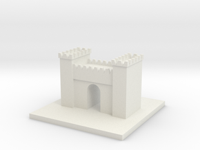Cool Arch in White Strong & Flexible
