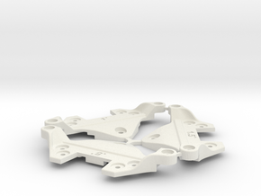 F1 Camber Block Set in White Strong & Flexible