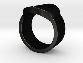 Death FF Ring 9 in Black Strong & Flexible