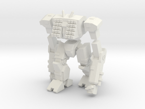 Mecha- Odyssey- Tethys (1/285th) Multi-Part in White Strong & Flexible