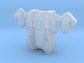 Jet Pack-Flying Mode-Attachment in Frosted Ultra Detail