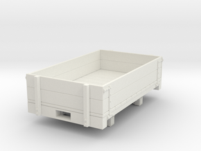 Gn15 Dropside wagon  in White Strong & Flexible