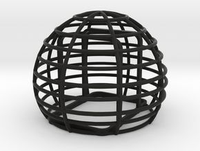 Basket windshield for Zoom H2N in Black Strong & Flexible
