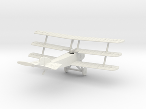 1/144 Sopwith Triplane in White Strong & Flexible