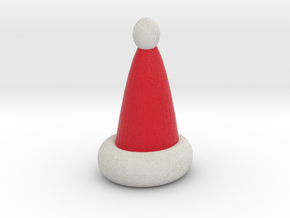hollow santa hat in Full Color Sandstone