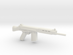 FN FAL in White Strong & Flexible