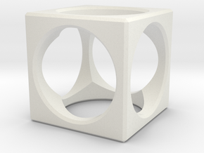 Big Aircube in White Strong & Flexible