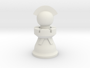Captain for Spartan Chess™  in White Strong & Flexible