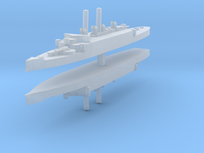 USS Atlanta (1884) 1:2400 x2 in Frosted Ultra Detail