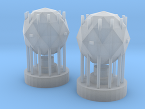 Star Destroyer Shield Generators (small) x2 in Frosted Ultra Detail