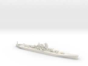 """1/2400 IJN Never Were Super Yamato 8 x 20"""" in White Strong & Flexible"""
