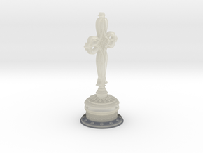 Decorative Cross with hollow base in Transparent Acrylic