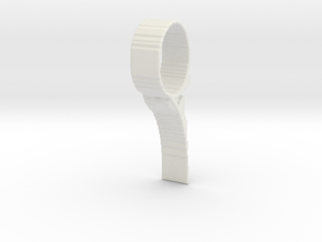 TopOpt DoorStop in White Strong & Flexible