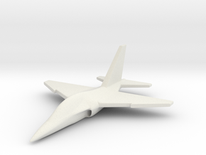 1/285 ( 6mm ) M-346  Trainer in White Strong & Flexible