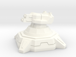 Skystrike Tower (1/285) in White Strong & Flexible Polished