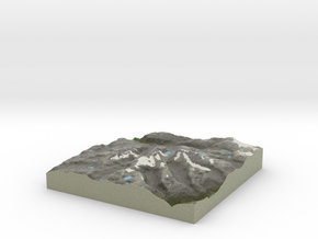 Terrafab generated model Fri Jan 10 2014 19:35:12  in Full Color Sandstone