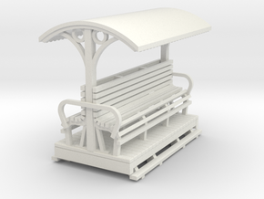 Sn2 Open Longitudinal seat coach  in White Strong & Flexible