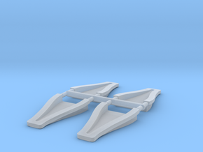 1/12 scale 3 inch NACA ducts in Frosted Ultra Detail