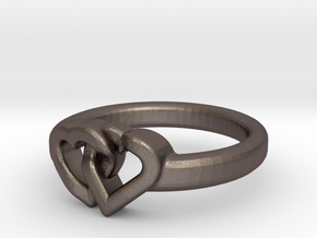 Entangled Love Small Sz17 in Stainless Steel