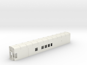 N Scale Rocky Mountaineer B Series No Platform in White Strong & Flexible