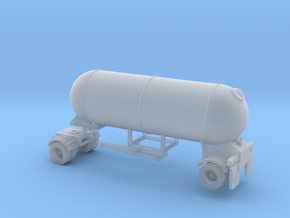 N scale 1/160 LPG Pup single-axle, trailer 15  in Frosted Ultra Detail