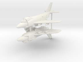 1/300 F3H Demon (x2) in White Strong & Flexible