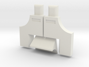R2 Ankle Greeble Kit HOLLOW in White Strong & Flexible