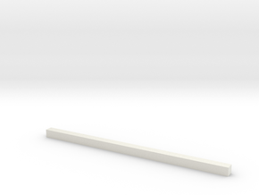 thin bars 2 5mm thickness in White Strong & Flexible
