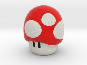 Super Mario Mushroom - Pencil Accesory in Full Color Sandstone
