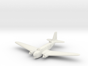 B-18A 6mm 1/285 (Landing gear retracted)  in White Strong & Flexible