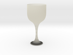 Big glass of wine in Transparent Acrylic