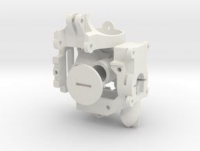 Bundle of Robot Parts in White Strong & Flexible