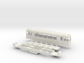 Essen TW 1901 ER Stra�enbahn in White Strong & Flexible