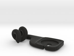 Phone Hanger in Black Strong & Flexible