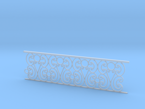1:48 Ornate Railing in Frosted Ultra Detail